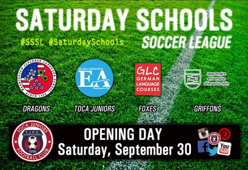 The Saturday Schools Soccer League